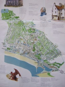 information map of kirkcaldy town centre