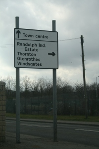 Town centre directions!